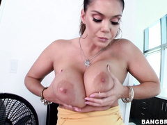In this one we invite you to take a trip with the lovely Alison Tyler and her big bon bons.