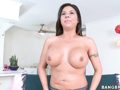 Her name is Candi Coxx and she is not here to fuck around, all she wants is a dick in her mouth and her pussy to be pounded.