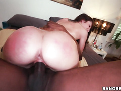 We have the petite and very sexy Lola Foxx.
