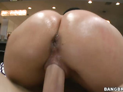 Chris Strokes is greatful to have this ass on his massive cock.