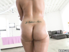 This gir'ls ass is amazingly huge and delicious.