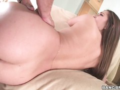 Her pretty pussy gets slammed hard in this scene, and she loved every stroke of it.