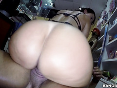 Franceska has big tits, a juicy ass and a fat pussy with a huge clit.
