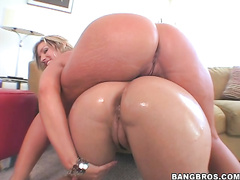 Here's another classic AssParade featuring Flower Tucci and Olivia O'Lovely.
