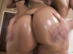 Madison Rose has a big juicy ass, and it's hungry for cock.