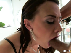 Watch her get plowed as never before, deep in her tight little asshole.