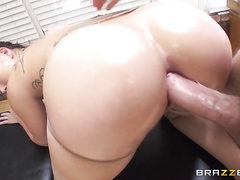 The pussy pounding, cock sucking and lesbian action going on is crazy.