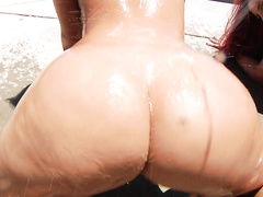Jada Stevens and Kelly Divine figure out how to double their sexy ass powers, in this 32 minute hardcore scene.