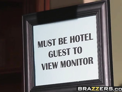 Brazzers - Pornstars Like it Huge -  Hotel Cockafornia scene starring April ONeil and Johnny Sins