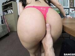 Her name is Ada Sanchez, and she is ready to get down and mothafuckin dirty at Bangbros HQ.