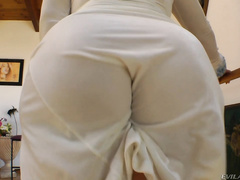 These sexy sluts love to tease Buttman and help the director in his erotic, close-up search for the perfect wedgie